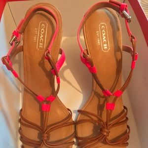 Coach Shoes - Coach size 9.5
